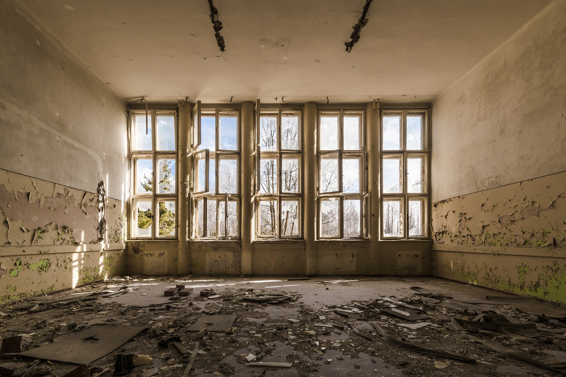 site abandonment